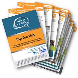 Top Ten Tips for Organisations