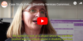 Picture of Disability Services Commissioner Case Study Video